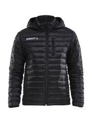 Thermojacke von Craft für Freizeit und Training Isolate Jacket schwarz
