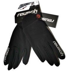Reusch Langlauf  Handschuhe Ian  Fingerhandschuhe schwarz