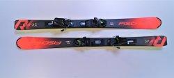 Fischer Alpin Skiset Kinder Carvingski Curv RC JR  mit Bdg. 120 cm