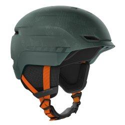 Scott Ski Snowboardhelm Scott Chase 2 Helm sombre green/pumpkin orange