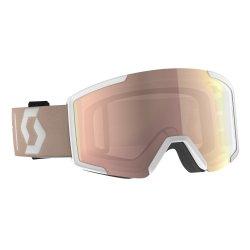 Scott Skibrille Schneebrille Shield pale pink verspiegelt incl Brillentuch