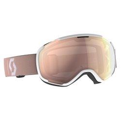 Scott Skibrille Schneebrille Faze II pale pink I Rose chrome  incl Brillentuch