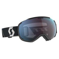 Scott Skibrille Schneebrille Faze II incl Brillentuch black / enhancer blue chrome